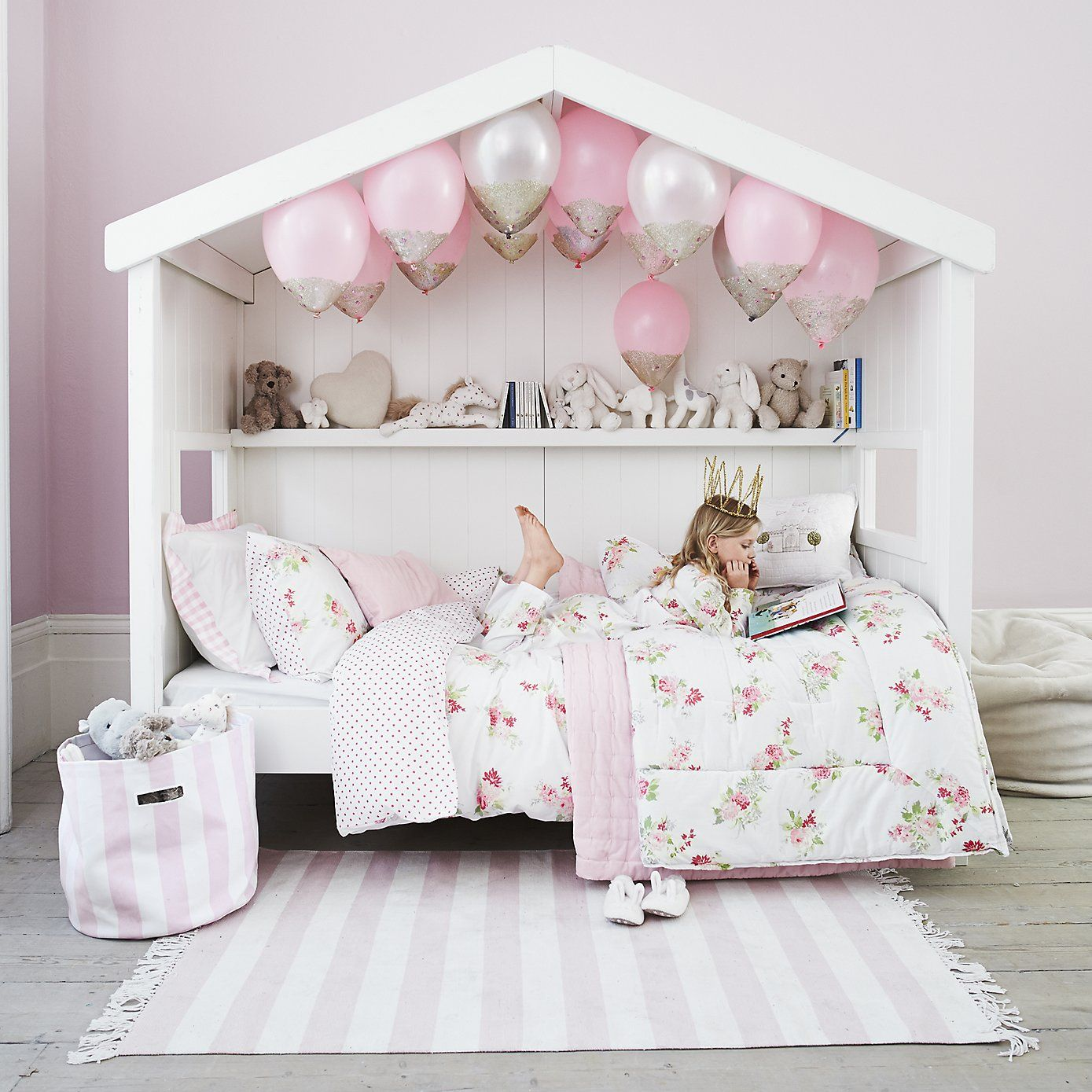Canopy daybeds for girls - Classic Little White Daybed The White Company