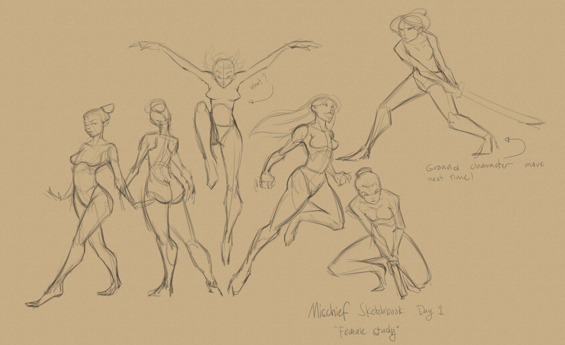 ArtStation - Mischief Sketching Days 1-5, Joshua Black