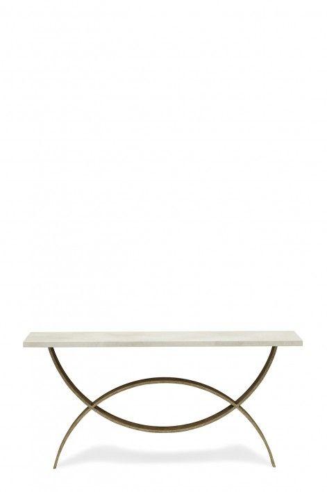 Sofa Table Silver