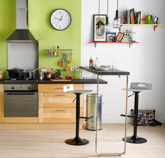 Am nager petite cuisine astuces pour gagner de la place rangement petite cuisine petite - Mini cuisine equipee ...