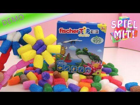 playmais deutsch Alternative: Fischer TiP Box M Unboxing+Demo Bastelspielzeug aus Biowertstoff - YouTube