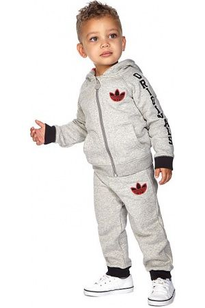 Baby tracksuits - adidas Kids Trefoil Suit Infant - Only at JD -    667dbef34