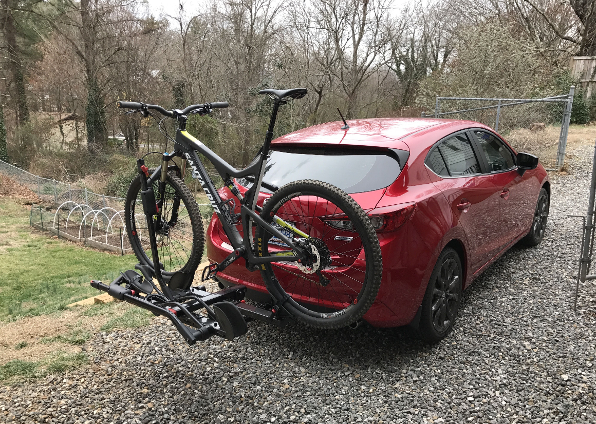 The Mazda 3 Ecohitch Is All You Need For Spring Camping And Biking