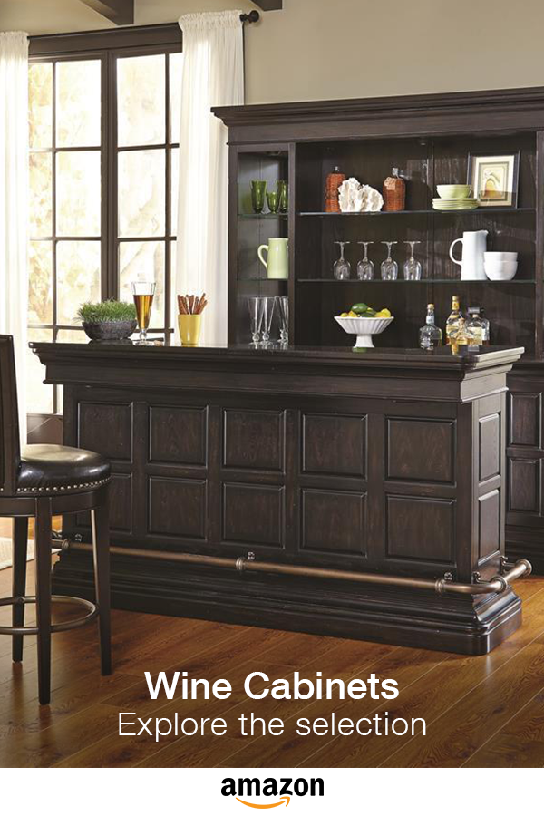 Make entertaining easy! Bar and wine cabinet selection. | Bonus ...
