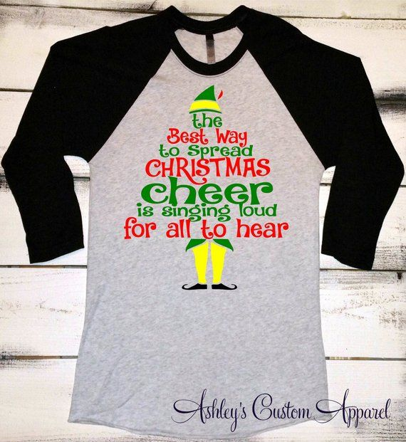 af5af5714 Funny Christmas Shirt, Christmas Elf Shirt, The Best To Spread Christmas  Cheer, Holiday Shirts, Wome