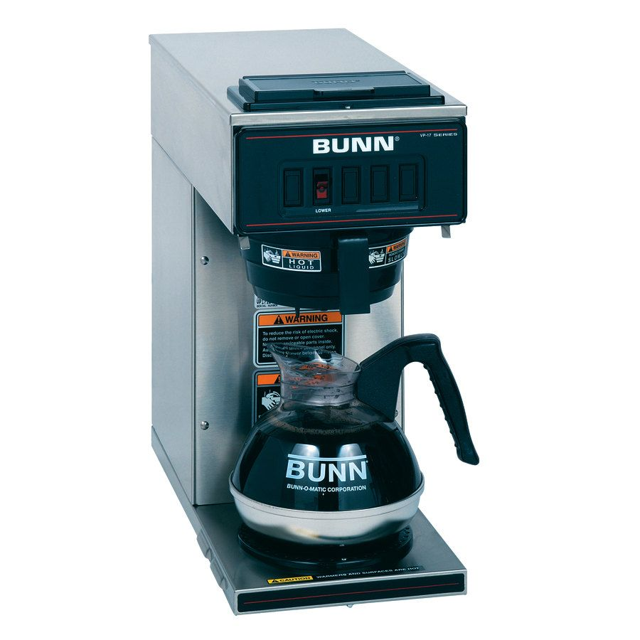 Bunn 13300.0001 VP17-1 SS Stainless Steel Pourover Coffee Brewer ...