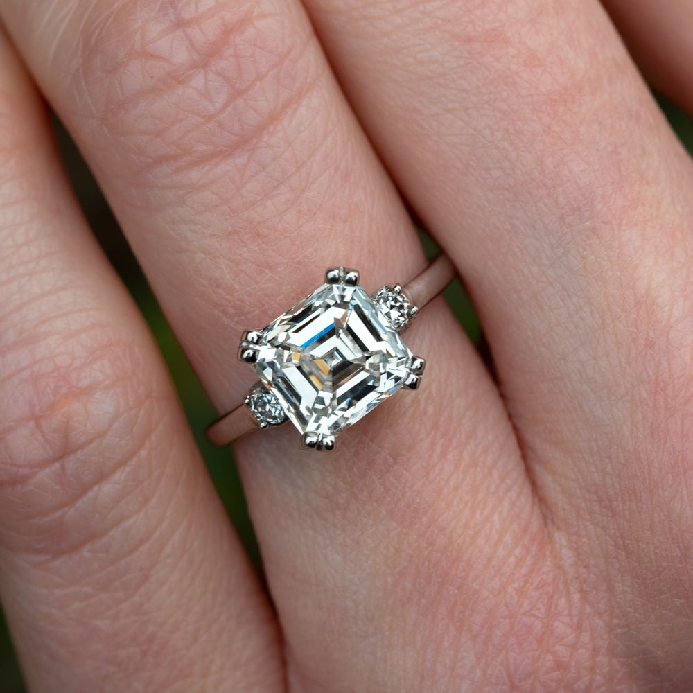 This 3 Carat Asscher Could Be On Your Hand Stylish Engagement
