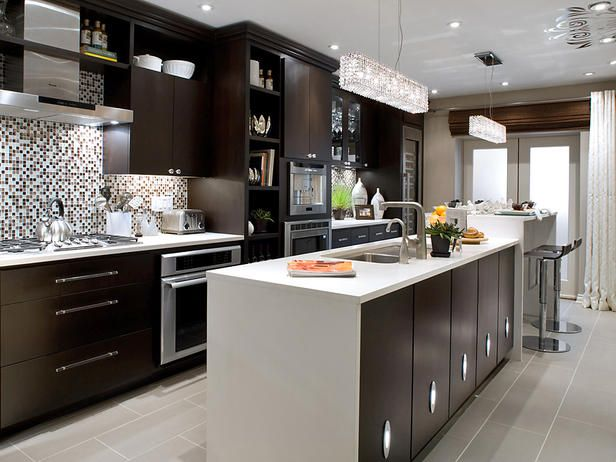Rowhouse Retirement Begins With Modern Kitchen Candice Olson Design And Kitchens