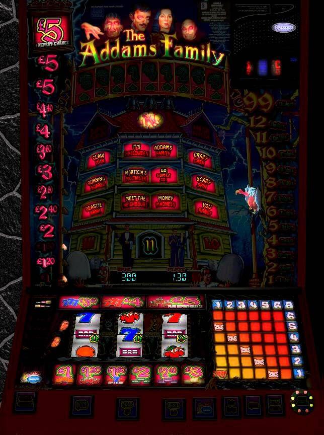 Adams family slot machines choctaw casino oklahoma poker