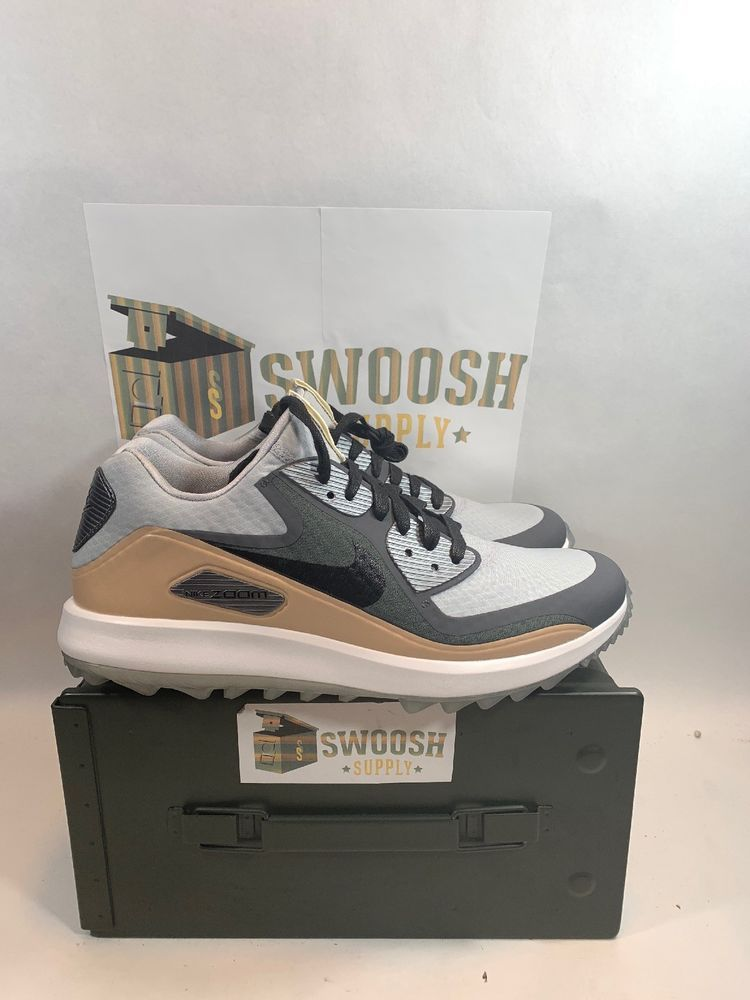 e173bf0eca9 Nike Air Zoom 90 IT NGC Golf Shoes Cleats Wolf Grey Black Size 9.5  904770-001  Nike