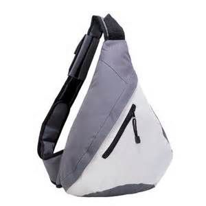 Sling Bag : A backpack with only one shoulder strap designed to be ...