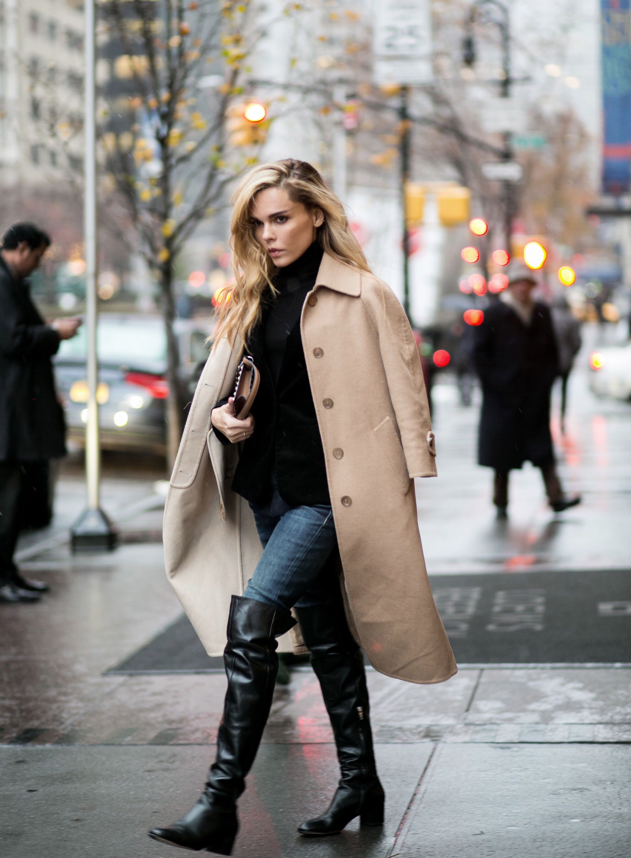 How to wear tall boots fall 2017