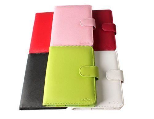 Boriyuan - Custodia in pelle Custodia per cellulare Cover Custodia per il nuovo AMAZON KINDLE (4) WLAN, 15 cm (6 pollici) e - 5th generazione - Case Cover + Pellicola protettiva: Amazon.it: Kindle Store