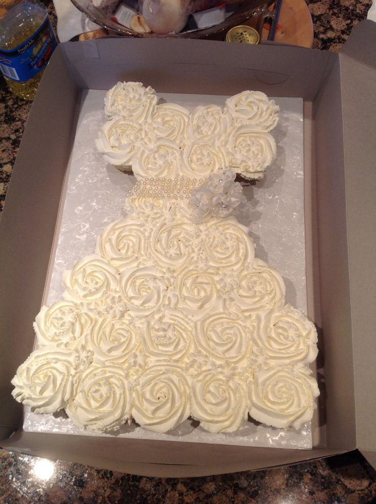 Wedding Dress Cupcakes Wedding Dress Cupcake Wedding Dress