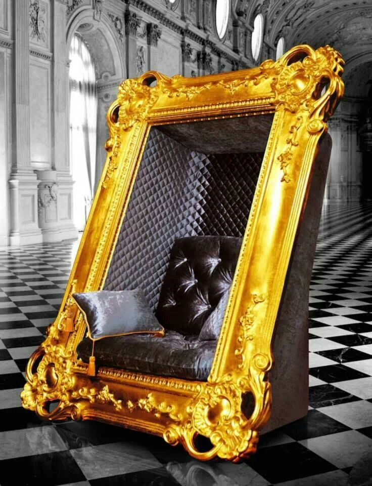Gold and black framed chair design elegant chair chair