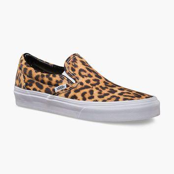 b2c4951c78 VANS Digi Leopard Classic Slip-On Womens Shoes