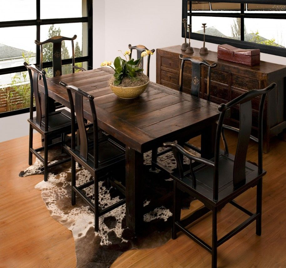 Superior Rustic Dining Room Furniture Lends Your Space Aesthetic Beauty And