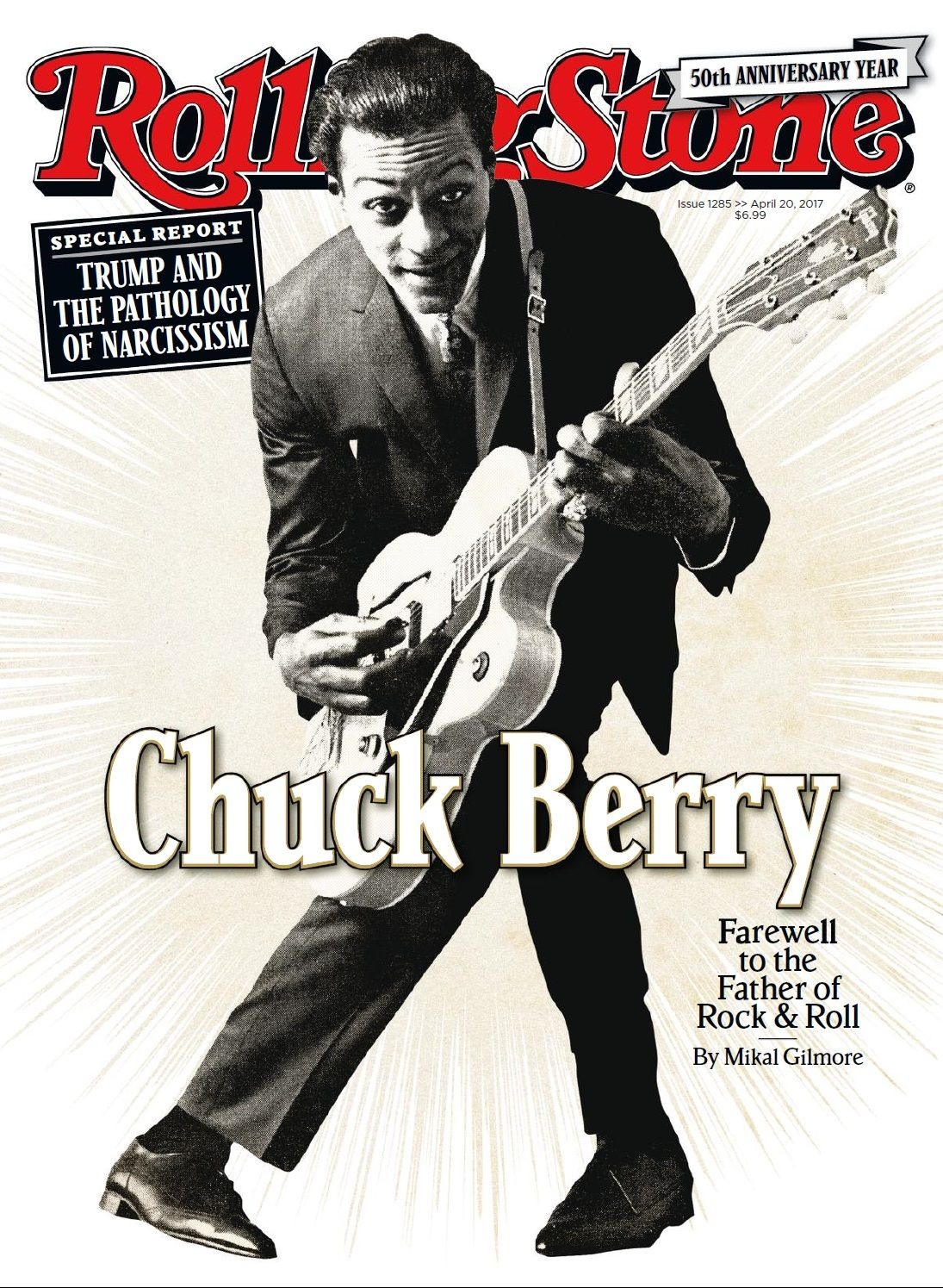 Rolling Stone Usa Abril 2017 Chuck Berry Chuck Berry Rolling