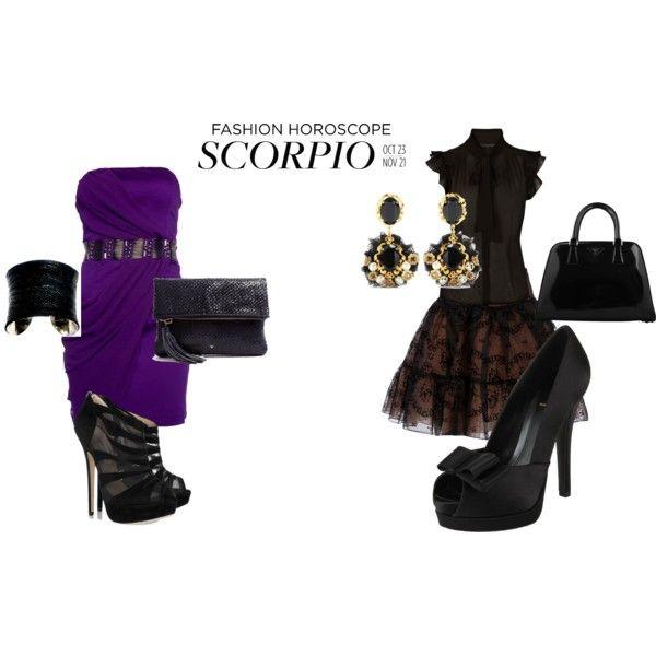 """Scorpio"" by ashley-nicole-parris on Polyvore"