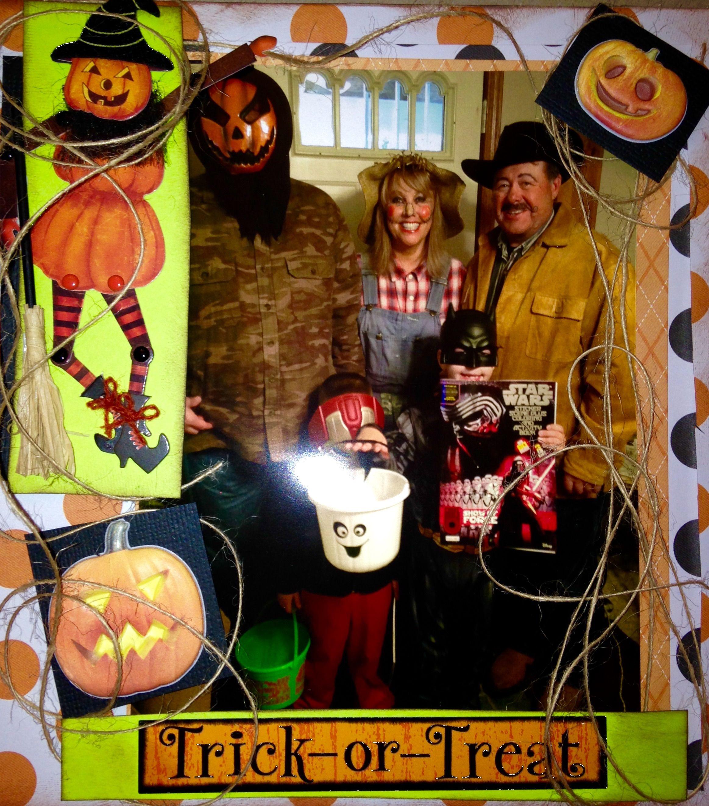 halloween pumpkin album - scrapbook | scrapbooking - halloween