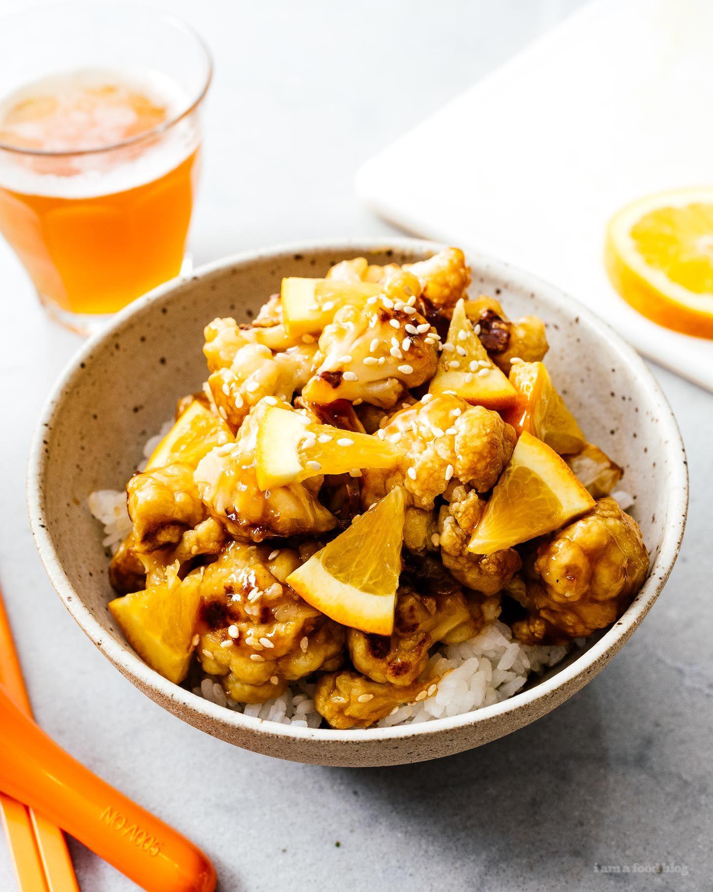 The Dinner & Chill Oven Baked Orange Cauliflower images