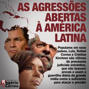 Líderes da Europa e América Latina denunciam perseguição a