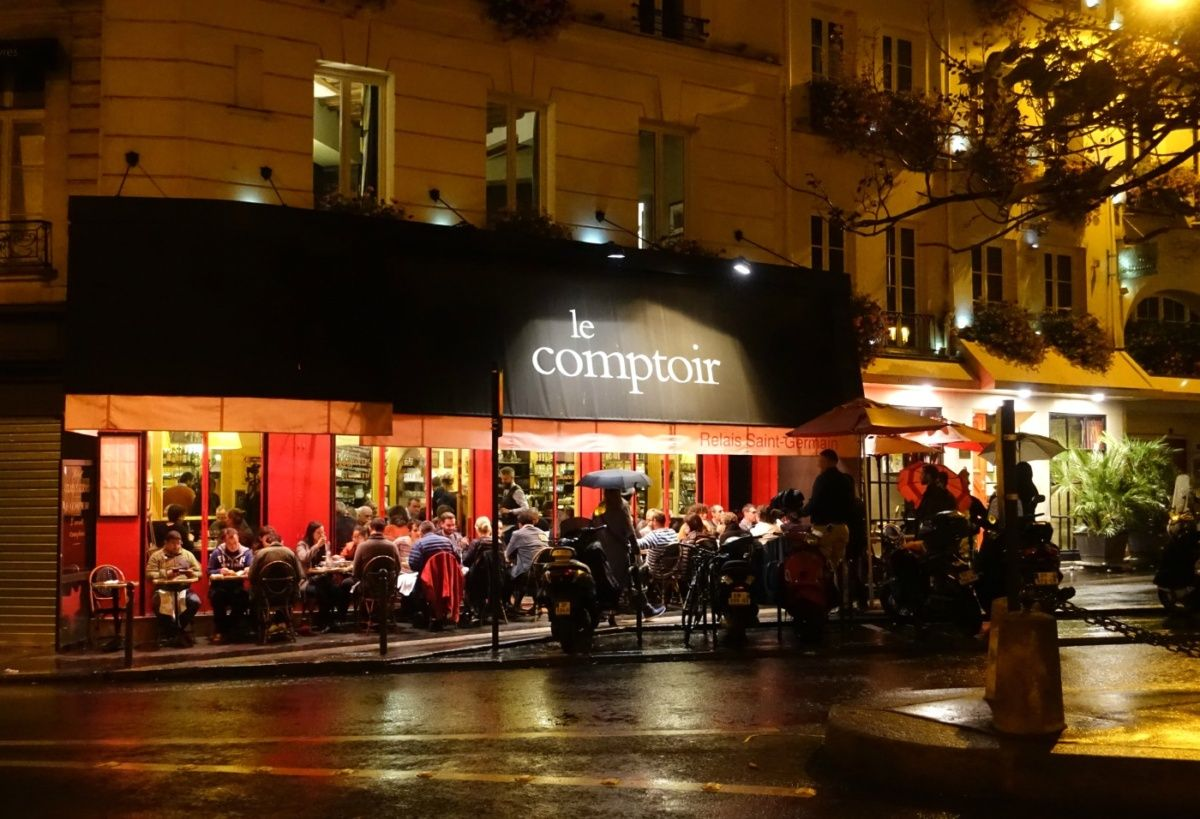 Paris adventures with friends paris paris restaurants - Le comptoir paris restaurant ...