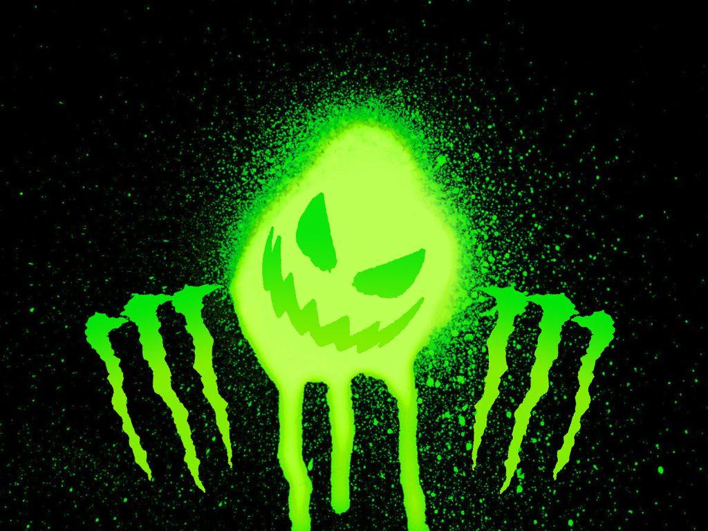 Monster Minuman Energi Toh Keren Keren Logo Monster Energy Memang Keren Monster Energy Monster Hantu