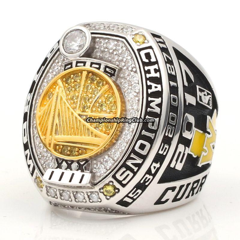 Golden State Warriors Championship: 2017 Golden State Warriors Championship Ring