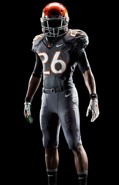 f9e8344d1 Miami Hurricanes New Nike Uniforms 2014  Grey Smoke