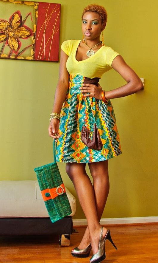 Pictures of african fashion dresses