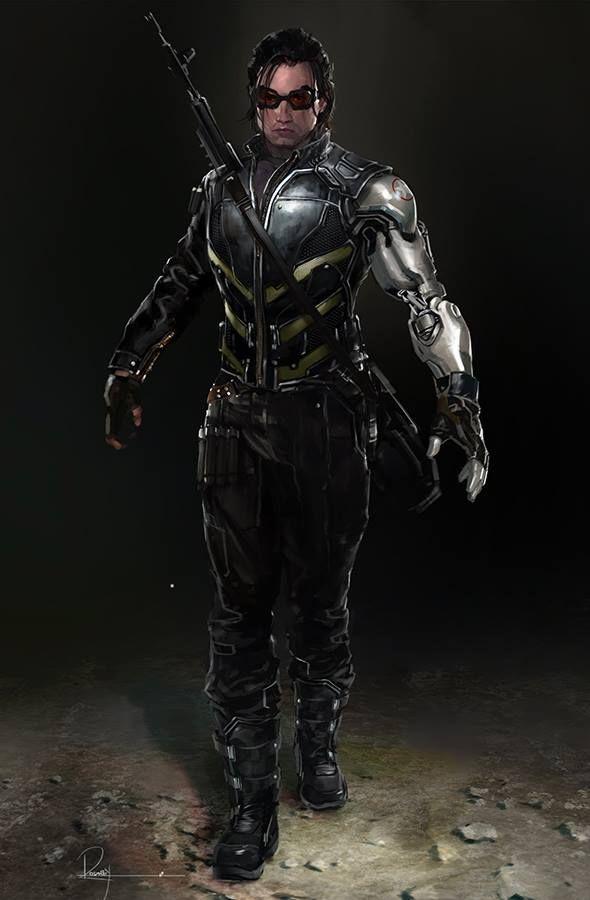 Concept art- Winter Soldier