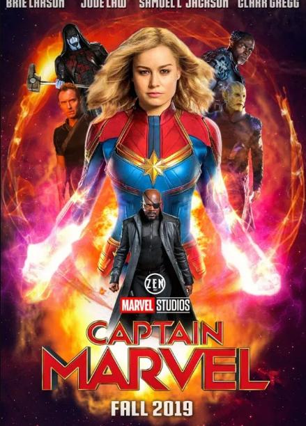 Captain Marvel 2019 Hollywood Movie Captain Marvel Marvel English Movies