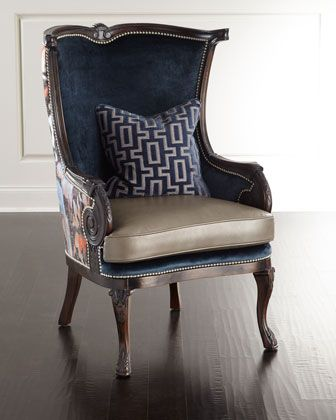 stockwell chair by massoud at horchow in 2018 pinterest rh pinterest com