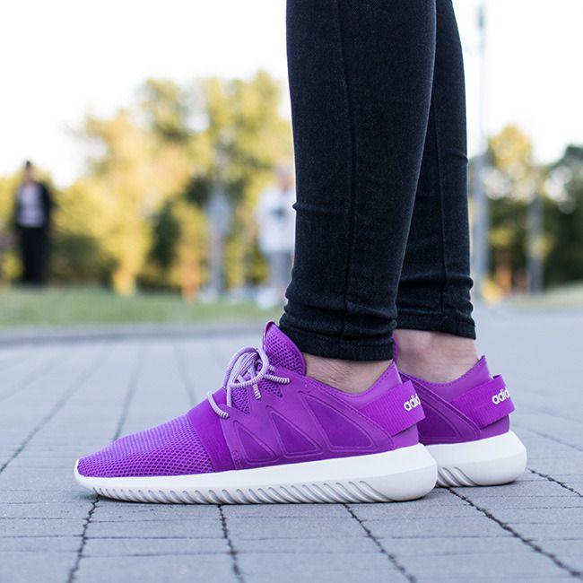 Adidas Tubular Viral Knit Purple