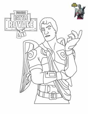 Fortnite Coloring Sheets To Print Ideen Sammlung Pinterest