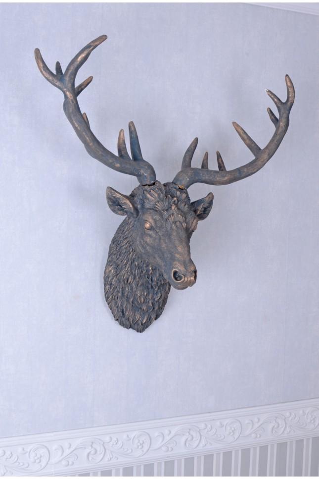 Hirschkopf Wanddekoration In 2020 Hirschkopf Dekoration Hirsch