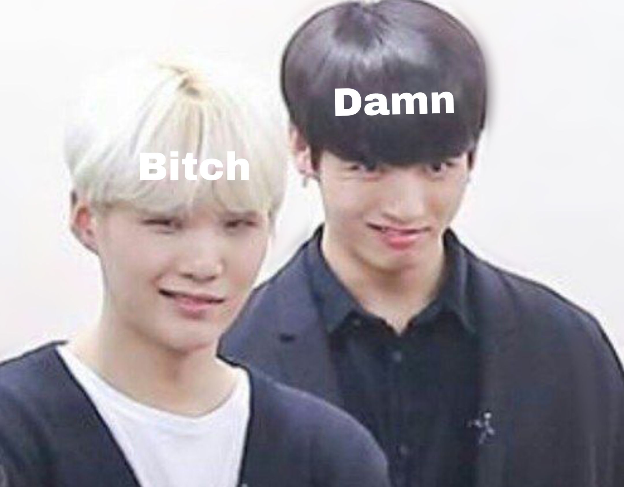 jungkook and yoongi 😂   ☆彡bt᥉ in 2019   Bts memes, Bts