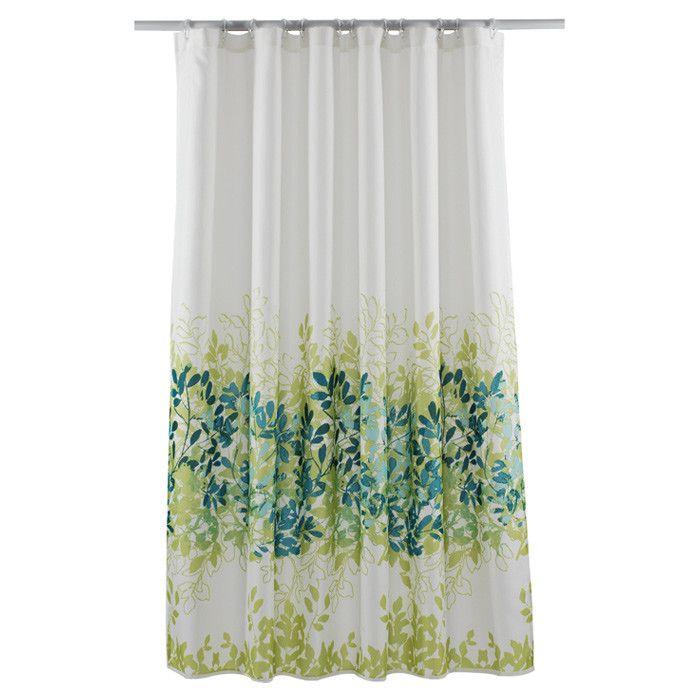 Sylvie Shower Curtain Set In Avocado Green Shower Curtain Sets