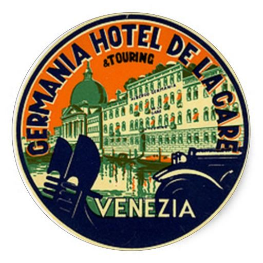 Vintage Hotel Travel Sticker Zazzle Co Nz Travel Stickers Vintage Hotels Hotel