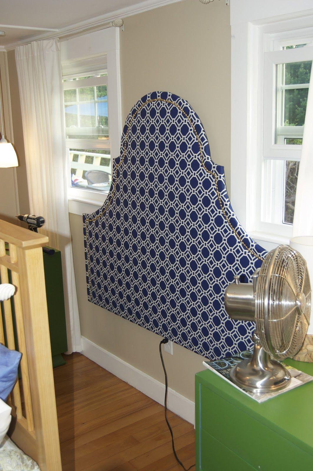 DIY Headboard Seaside Shelter Preppy Bedroom
