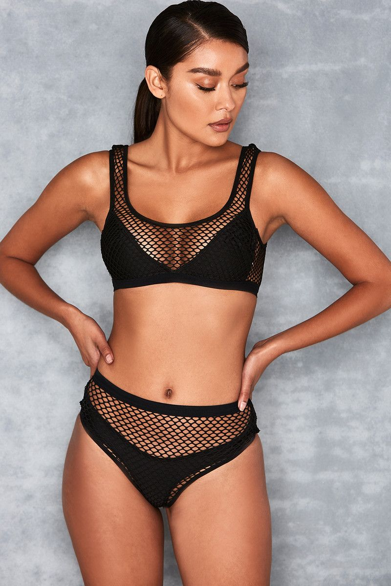 07d906f236  Scorcher  Black Fishnet Overlay 2 Piece Swimsuit - Mistress Rocks.   Scorcher  Black Fishnet Overlay 2 Piece Swimsuit - Mistress Rocks 2 Piece  Swimsuits