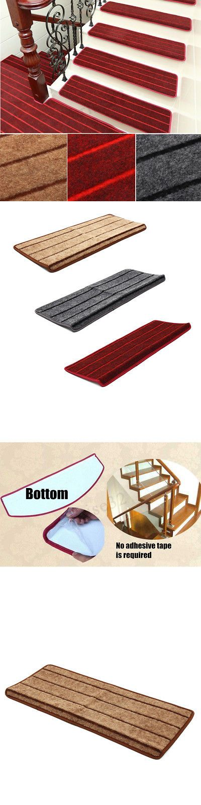 Best Stair Treads 175517 1 13Pcs Set Non Slip Adhesive Carpet 400 x 300