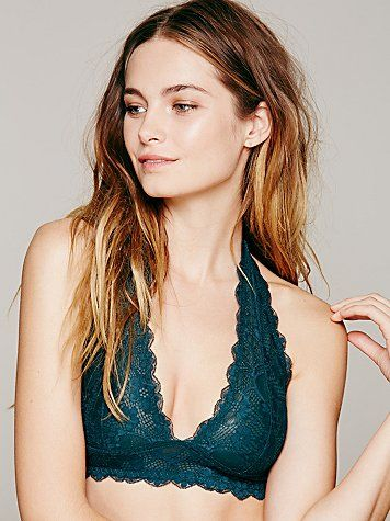 654a8f0d5b Free People Galloon Lace Halter Bra. if only i could wear halters. gorgeous  colour.
