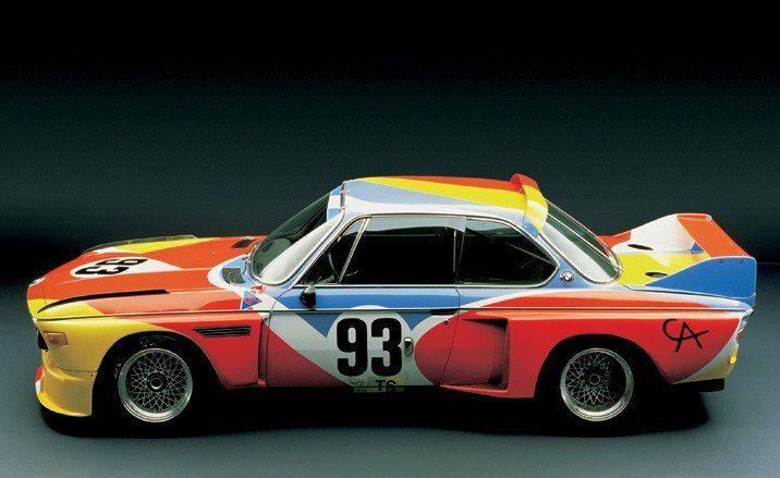 Alexander Calder, Art Car, 1975, BMW 3.0 CSL