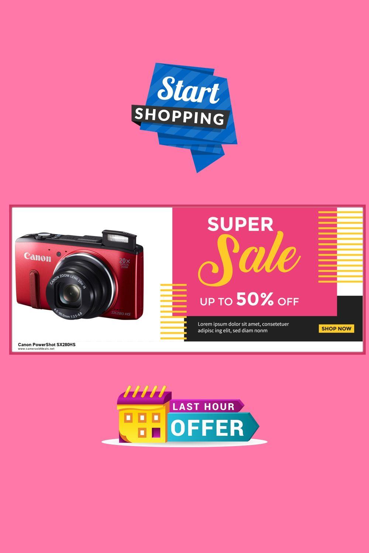 3 Best Canon Powershot Sx280hs Black Friday Deals Discounts 2020 In 2020 Powershot Canon Powershot Black Friday