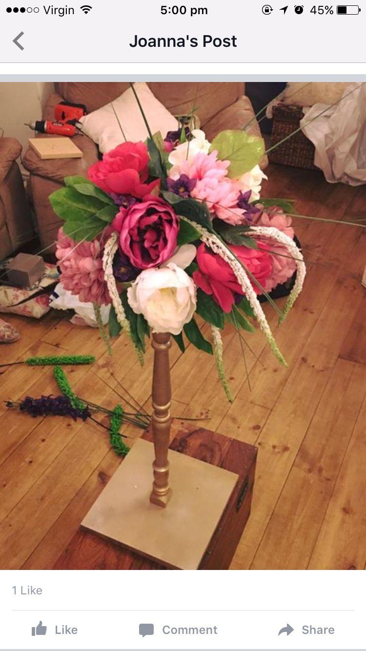 Wedding flowers homemade
