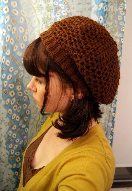 Angora Tam pattern by Lion Brand Yarn   crochet - toucas/berets ...