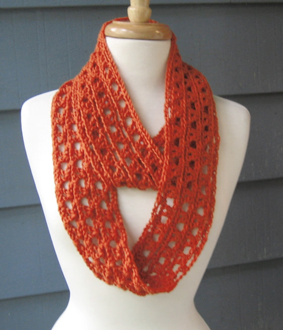 PATTERN S-017 / Crochet Pattern / Annalyse Infinity ... worsted 200 ...