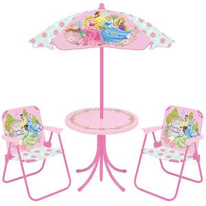Disney - Princess 4-Piece Patio Set | Princess, Toy and Babies